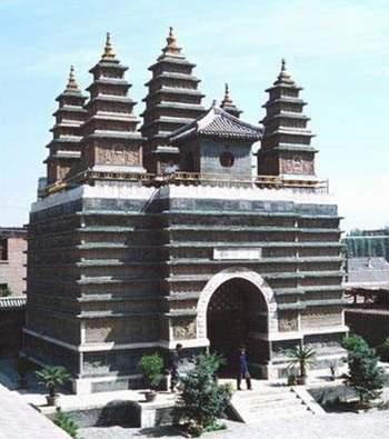 在北京,即五塔寺